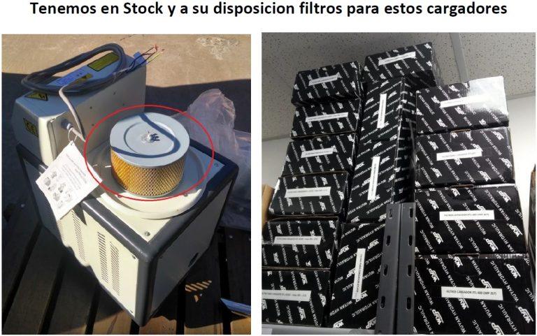 Filtros CARGADOR DE TOLVA PIE DE MAQUINA XTL-600