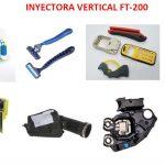 Productos de muestra inyección vertical