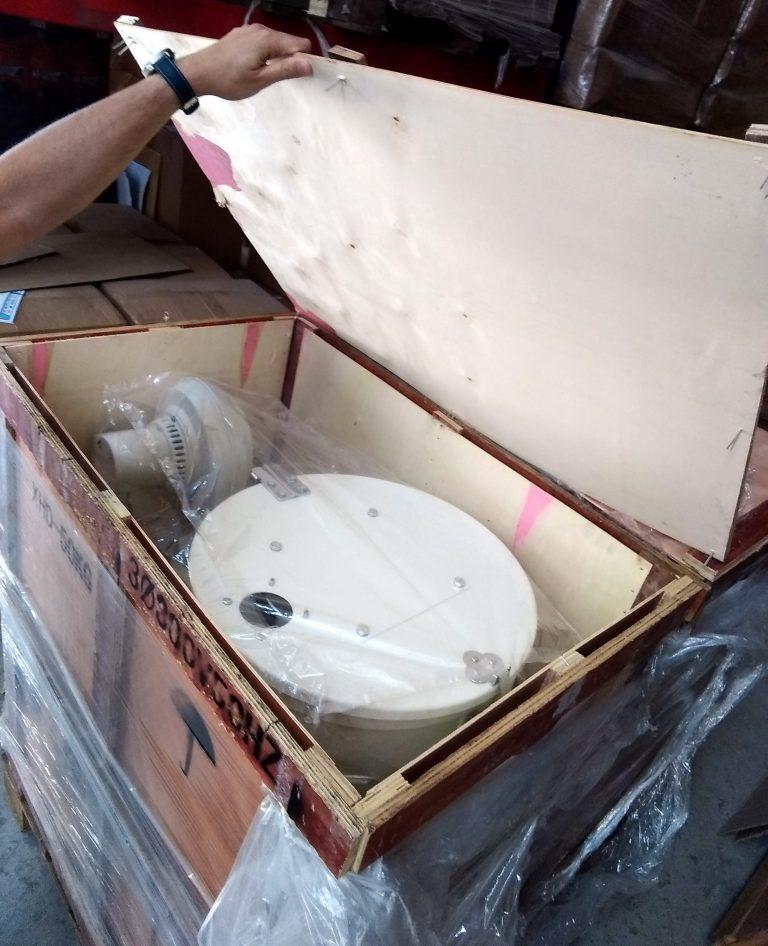 TOLVA SECADORA PLASTICOS BLANCA UNBOXING