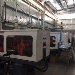 Inyectoras de plasticos Haitai en fabrica Argentina