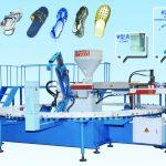 Inyectora Calzado Rotativa Calesita PVC
